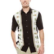 Island Shores™ Rayon Printed Camp Shirt
