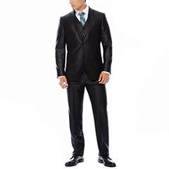 JF J. Ferrar® Black Shimmer Suit Separates - Slim Fit