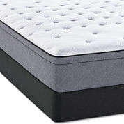 Sealy® Posturepedic® Meadowlark Cushion Firm Euro Top Mattress + Box Spring