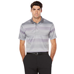 PGA Tour Short Sleeve Solid Doubleknit Polo Shirt