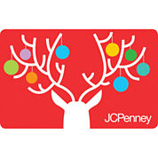Reindeer Ornaments Gift Card