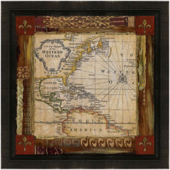 Earth Detail Framed Canvas Wall Art