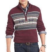 IZOD® Fair Isle Quarter-Zip Sweater