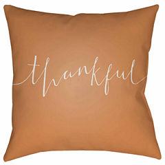 Decor 140 Thankful Square Throw Pillow