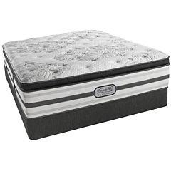 Simmons® Beautyrest® Platinum® McNeil Pillow-Top Luxury Firm Mattress + Box Spring