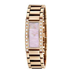 Fjord Aasa Womens Rose-Tone Bracelet Watch