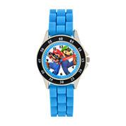 Boys Blue Strap Watch-Gsm3044jc