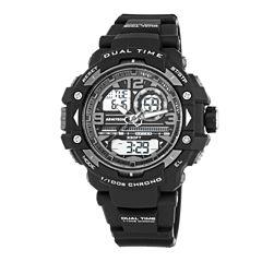 Armitron® Mens Black Analog and Digital Watch