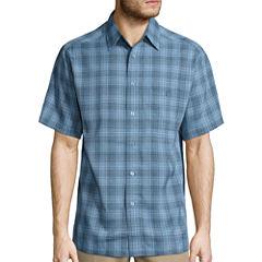 Haggar Short Sleeve Microfiber Shirt