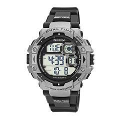 Armitron® Mens Gray Strap Watch 40/8309GRYJ