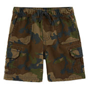 Arizona Twill Cargo Shorts - Toddler