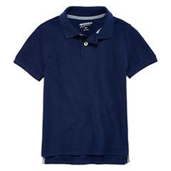 Arizona Short Sleeve Pique Polo Shirt - Preschool Boys