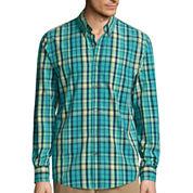 St. John's Bay Legacy Button-Front Shirt