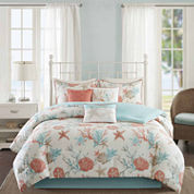 Madison Park Pacific Grove 7-pc. Comforter Set