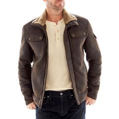 R&O Faux-Shearling Aviator Jacket