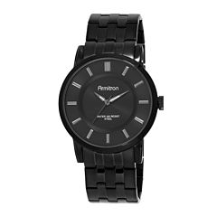Armitron® All-Sport® Mens Black Stainless Steel Watch