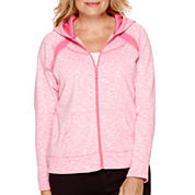 Made For Life™ Streaky Fleece Jacket - Petite