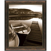 Rowboat Waits Framed Wall Art