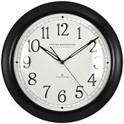 FirsTime® Slim Wall Clock