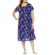 Adonna Jersey Short Sleeve Nightgown-Plus