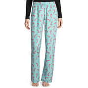 Flirtitude Microfleece Pajama Pants
