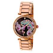 Bertha Womens Rose Goldtone Strap Watch-Bthbr6203