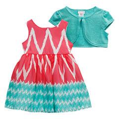 Young Land Jacket Dress Toddler Girls