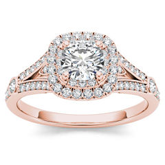 tw round white diamond 14k gold engagement ring - Jcpenney Jewelry Wedding Rings