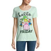 Short Sleeve Crew Neck Graphic T-Shirt