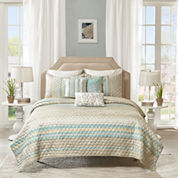 Madison Park Jade 6-pc. Coverlet Set