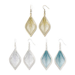 Arizona Dreamcatcher Teardrop 3-pr. Earring Set