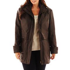 Excelled Hooded Anorak Jacket - Plus