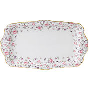 Royal Albert® Rose Confetti Vintage Sandwich Tray