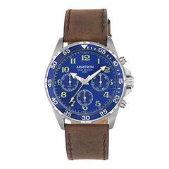 Armitron All Sport Mens Brown Watch Boxed Set-20/5220blsvbn