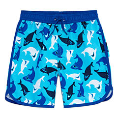 Arizona Boys Sharks Swim Trunks-Toddler