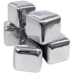 Epicureanist™ Stainless Steel Ice Cubes