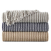 Cuddl Duds® Cozy Ribbed Throw