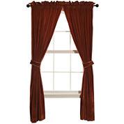 HiEnd Accents Lorenza Velvet 2-Pack Curtain Panels