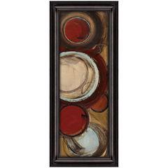 Encircled Abstract Framed Wall Art