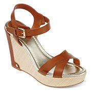 Liz Claiborne Cece Wedge Sandals