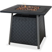 Collins LP Gas Outdoor Fire Bowl with Mantel