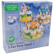 Wilton® Cakes 'N More 3-Tier Party Stand
