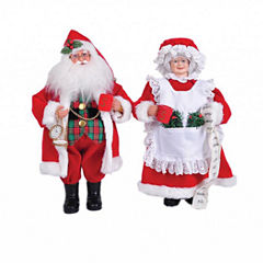Mr. & Mrs. Claus- Set of 2