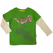 Boys Graphic T-Shirt-Toddler 2T-5T