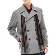 Claiborne Wool Peacoat