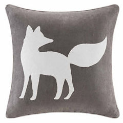 Madison Park Fox Square Throw Pillow