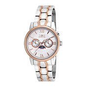 Invicta® Specialty Mens 40mm Stainless Steel and Rose Gold Bracelet Watch 18092