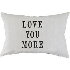 Park B. Smith® Love You More Decorative Pillow