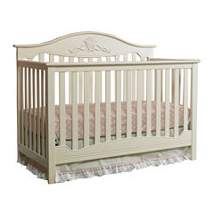 Fisher-Price® Mia Convertible Crib - Off White - Free Mattress with Purchase, See Product Page for Details