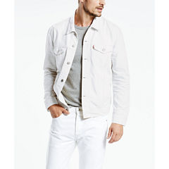 Levi's® White Denim Trucker